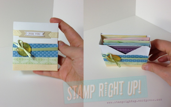 3x3 Note Card Gift Set - Front & Inside View