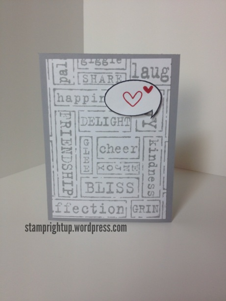 Stampin Up Manly Masculine Card
