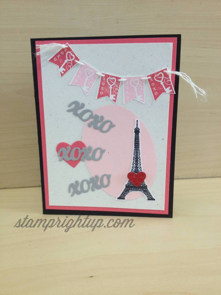 Montreal Card Workshop: Valentines' Day project #1