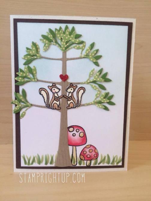 Kaiser Craft Squirrels In Love Card by Wendie Bee