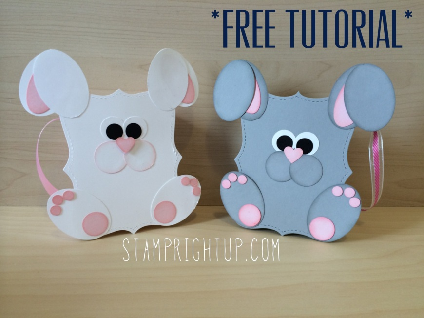Bunny Box free tutorial by Stamp Right Up Wendie Bee