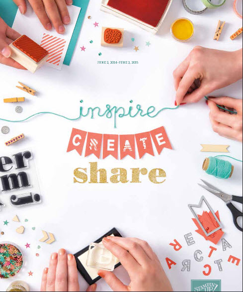 Stampin Up Inspire Create Share 2014-2015