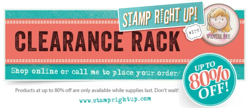 Stampin Up with Wendie Bee Clearance Rack Sale