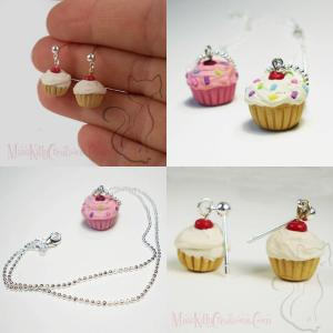 Scented Cupcake jewelry by Miss Kitty Creations