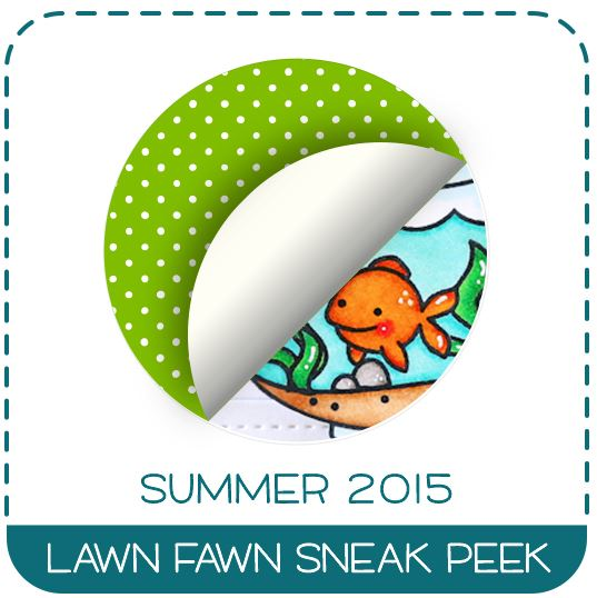 Lawn Fawn Finatstic Friends Summer 2015 Sneak Peek with Wendie Bee Stamp Right Up