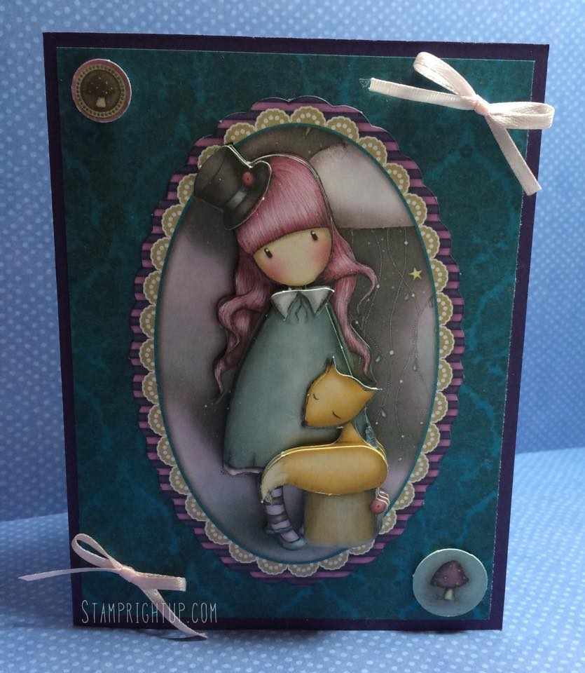Gorjuss_Santoro_Decoupage Card_Victoria_Shabby Chic_Wendie Bee_Stamp Right Up_1