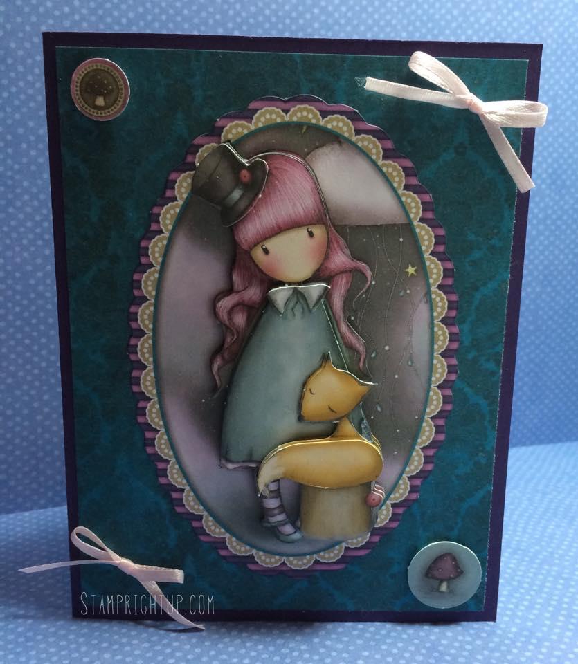 Gorjuss_Santoro_Decoupage Card_Victoria_Shabby Chic_Wendie Bee_Stamp Right Up_1