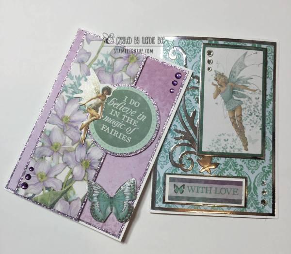 Kaisercraft Fairydust_Card_Wendie Bee_Stamp Right Up