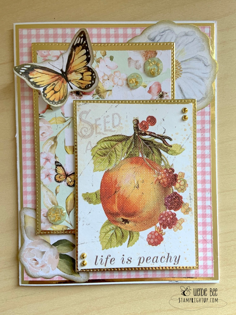 Prima Marketing Fruit Paradise Card by Wendie Bee