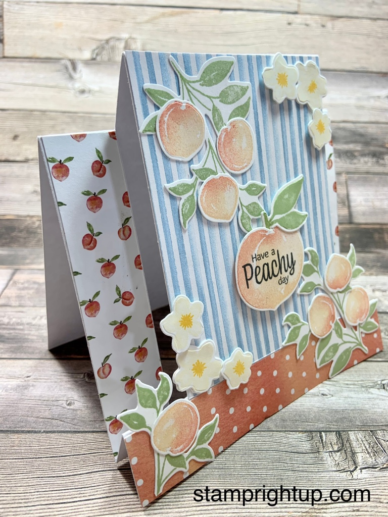 Stampin Up Sweet As A Peach by Wendie Bee Stamp Right Up